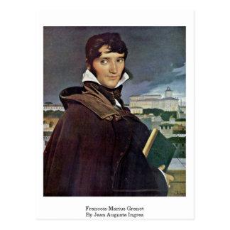 Francois-Marius Granet av Jean Auguste Ingres Vykort