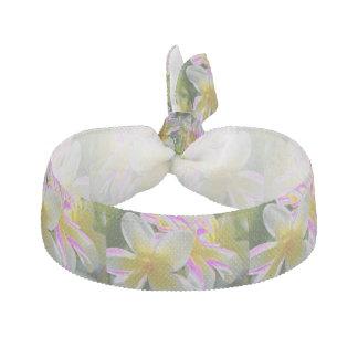 Frangapani gul/rosa hårtie hårband