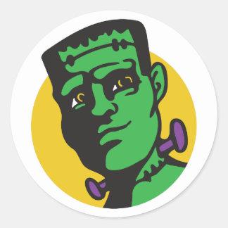 Frankenstein Runt Klistermärke