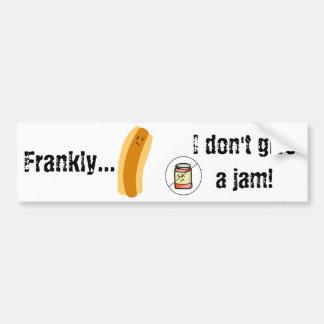 Frankly…, ger jag inte en sylt! Bildekal
