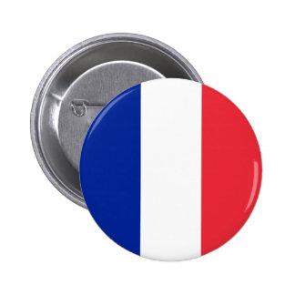 Frankrike flagga knapp med nål
