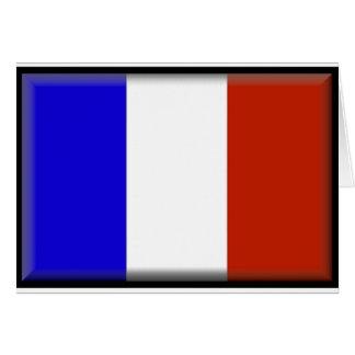 Frankrikeflagga Hälsningskort