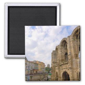 Frankriken Arles, Provence, romersk amfiteater Magnet