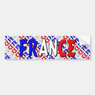 Frankriken Bildekal