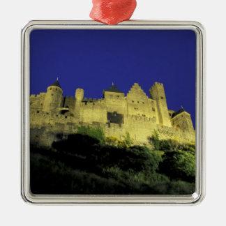 FRANKRIKEN Languedoc Carcassonne Julgransprydnad Metall