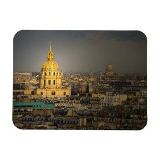 Frankriken Paris. Les Invalides som ses från Magnet