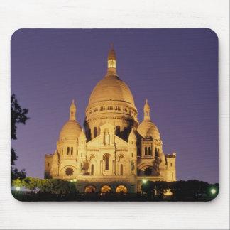 Frankriken Paris, Sacré-Coeur på dusk. Musmatta