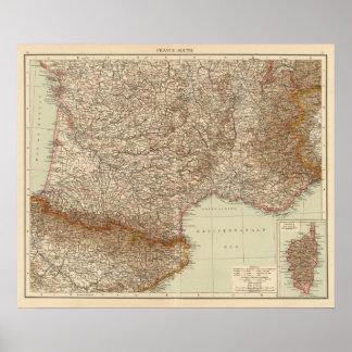 Frankriken S, Corsica Poster