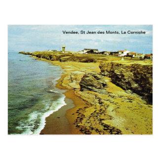 Frankriken Vendee, des Monts, Lacorniche för St Vykort