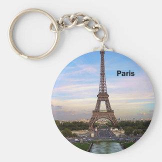 FrankrikeParis Eiffel torn (vid St.K) Rund Nyckelring