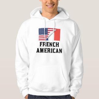 Fransk amerikanska flaggan munkjacka