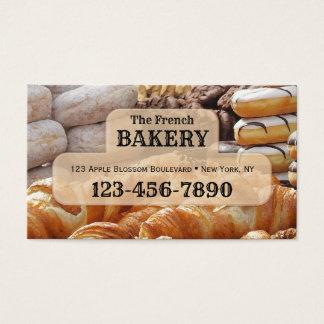 Fransk bagerivisitkort visitkort
