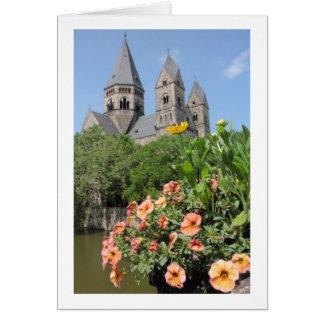 Fransk blommar Notecard 2 OBS Kort