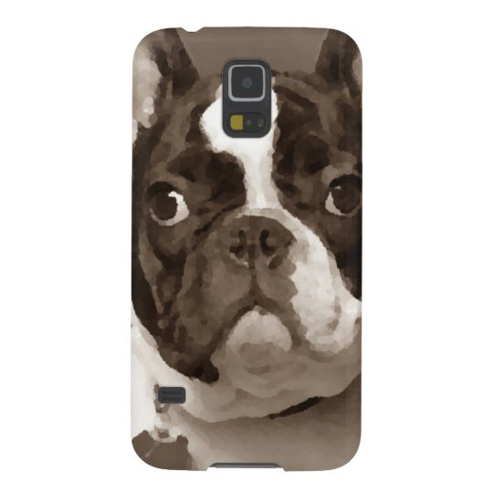 Fransk bulldog galaxy s5 fodral