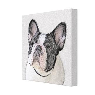 Fransk bulldogg canvastryck