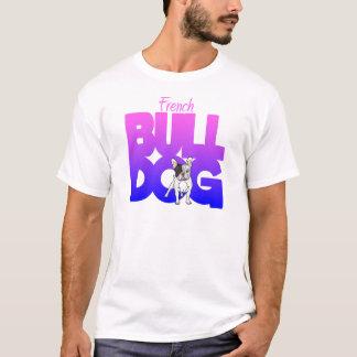 Fransk bulldogg, pink2blue tröjor