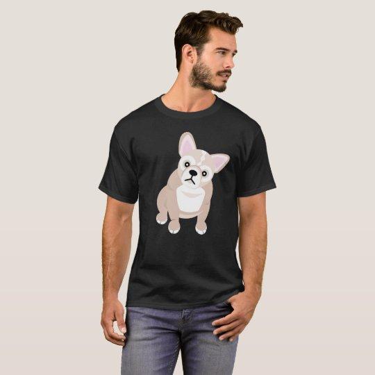 Fransk bulldogg tshirts