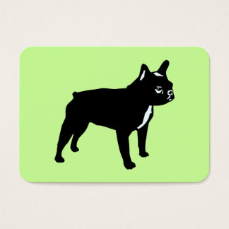 Fransk bulldogg visitkort