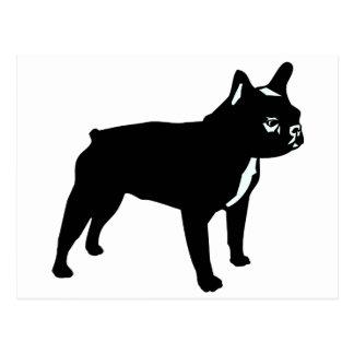 Fransk bulldogg vykort