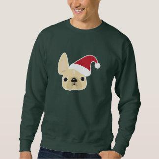 Fransk bulldoggjultröja sweatshirt