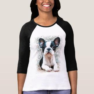Fransk bulldoggT-tröja T-shirts