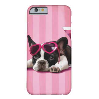 Fransk bulldoggvalp barely there iPhone 6 skal