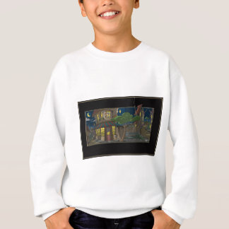 Fransk bycafe t shirts