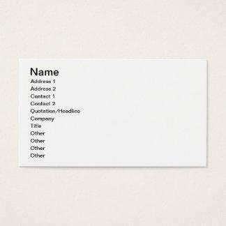 Fransk-byggd Mystere kämpe Visitkort