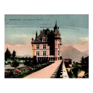 Fransk Chateau Vykort