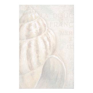 Fransk Conchsnäcka för vintage Brevpapper