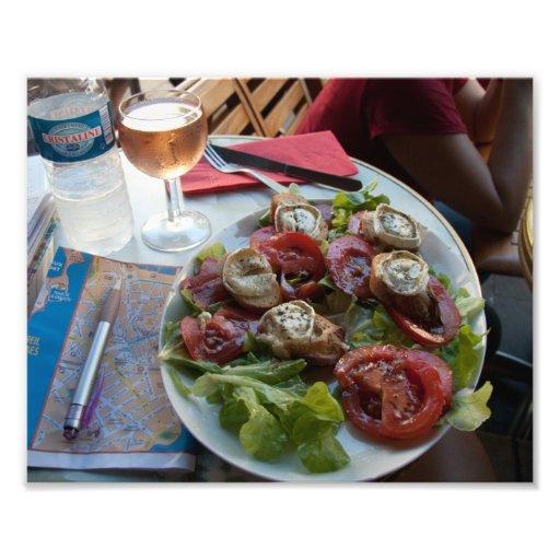 Fransk cuisine reser konst fotokonst