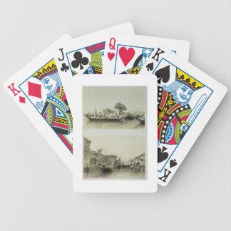 Fransk det salt en köpman huset för galenskap och  spelkort