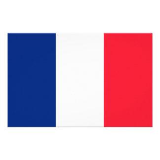 Fransk flagga brevpapper
