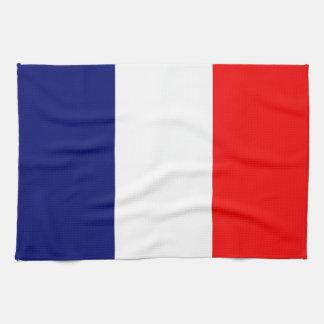 Fransk flagga kökshandduk