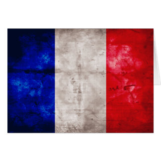 Fransk flagga OBS kort