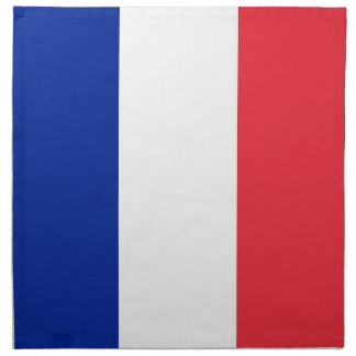 Fransk flagga på den MoJo servetten Tygservett