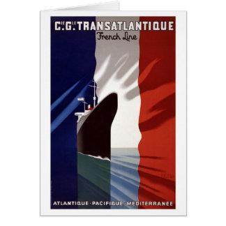 Fransk fodrar OBS kort