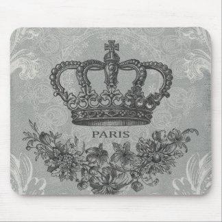 fransk krona för modern vintage musmatta