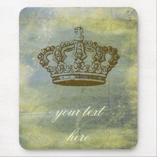 Fransk kronapersonlig för vintage mus mattor