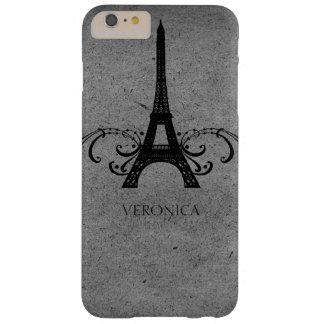Fransk krusidull för grå vintage barely there iPhone 6 plus skal