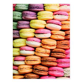 Fransk macaron vykort