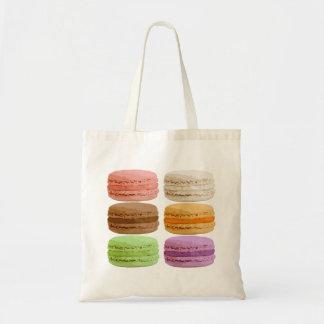Fransk Macarons - muti-färgade pastell Tygkasse