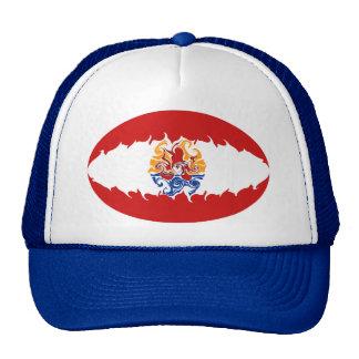 Fransk Polynesia Gnarly flaggahatt Baseball Hat