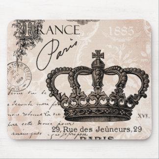 fransk shabby chickrona för modern vintage musmatta