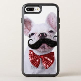 Fransk tjurhundvalp med mustasch OtterBox symmetry iPhone 7 plus skal