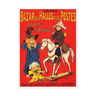 Fransk vintage affisch canvastryck