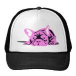 Franska bulldogghusdjurrosor baseball hat