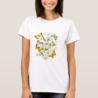 Franska fjärilar tee shirts