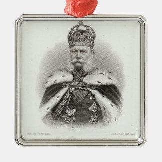 Franz-Joseph mig av Österrike Julgransprydnad Metall