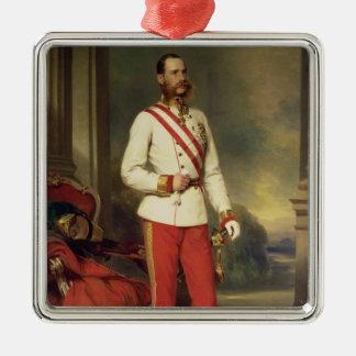 Franz Joseph mig, kejsare av Österrike Julgransprydnad Metall